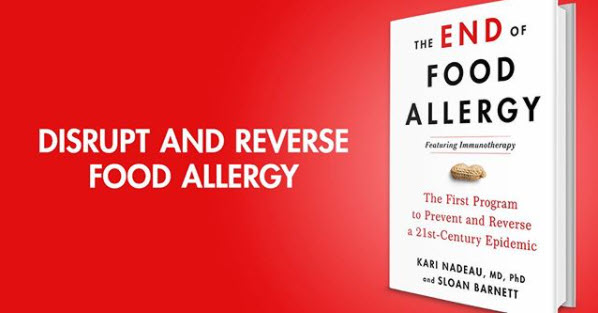 disrupt and reverse food allergies